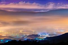 (M.K. Design) Tags: 2016                    taiwan nantou puli longexposure nature hdr landscapes scenery nikon d800e afs nikkor 105mmf14e ed tele bokeh nightimage nightview fog clouds lights