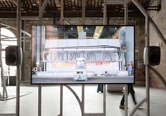 schmelzofen (dave7dean) Tags: bahrain pavilion biennale venedig 2016 biennalearchitettura architekturbiennale architecturebiennale aluminium alu arsenale artiglierie venice venezia italien italia italy