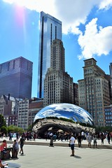 Summer's End (Lexie Grey 5) Tags: thebean summer cloudgate chicago