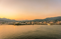 Sailing (malc1702) Tags: sailing cityscape sunset sunlight sundown travel holiday sasebo harbour sea water mountains nikond7100 nikkor18140mm scenic ngc