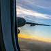 Mount Hood Behind A #Q400's Wing at Sunrise