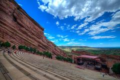 Red Rocks Amphitheater, Colorado (ap0013) Tags: red rocks amphitheater colorado co redrocks hdr redrocksamphitheater redrockscolorado denver denvercolorado cloud clouds bluesky landscape rock rocky rockymountains mountain