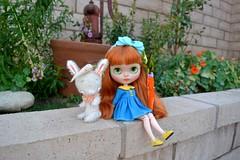 Carrot Cake in the Garden