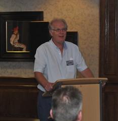Ed Abbott talking about the XJ40's test driving programme (Pim Stouten) Tags: dunkeld jag jaguar xj xj40