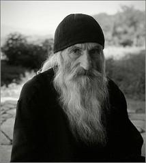, ,  (Yuriy Sanin) Tags: monk gelati medium format yuriy sanin fuji neopan xtol blackandwhite bw        beard look 2016 georgia mamiya6
