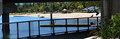 panDSC_0137 (LoxPix2) Tags: loxpix queensland southport surfersparadise beach river boat architecture building bridge australia 2016