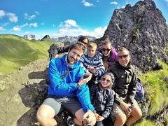 Family (Fra Lor) Tags: family sister famiglia alpi valdifassa canazei montagna estate 2016 estate2016 gopro selfie autoscatto