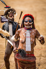 The Papuan (tehhanlin) Tags: indonesia papua westpapua wamena irianjaya jayapura thedanis sukudani ikipalin noken koteka sony a7r2 a7rm2 ngc travel humaninterest portrait festival baliemvalley lembahbaliem