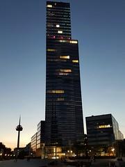 The Tower (Magic M.) Tags: klnturm cologne tower colognetower kln sonnenuntergang sunset mediapark colonius televisiontower