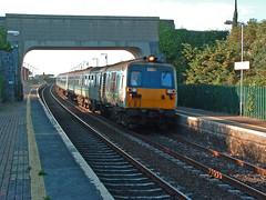 8083 at Gormonston 20-Aug-05 (metrovick) Tags: nir 80class 8083 railroad railway railwaymeath thumper englishelectric railcar translink gormonston