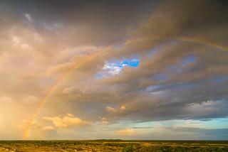 Rainbow. Lençóis Maranhenses. Maranhão, Brasil (see related photos in my Brasil Album)