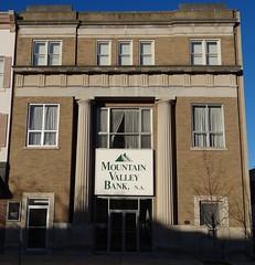 Tygarts Valley Bank Elkins, WV (Seth Gaines) Tags: westvirginia elkins bank