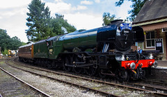 """The Flying Scotsman"" (davidh46) Tags: theflyingscotsman steam train locomotive steamlocomotive railway highley severnvalleyrailway restored uksteam"
