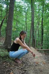 Anna 1 (amandamancusophotography) Tags: a2 2016 focal length woods camp hideaway trees