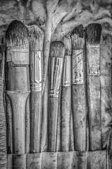 Pennelli (FolleMente) Tags: pennellobrush madonnaro draw disegno dettaglio detail grazie lombardia italia it