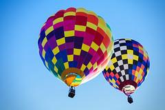 Flying Friends (matthewkaz) Tags: hotairballoon hotairballoons balloon balloons balloonfest michiganchallenge sky howell michigan 2016 flying