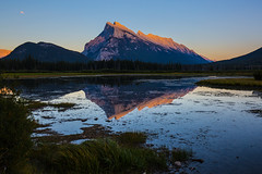 Sonset at Vermilion Lakes (lux0049) Tags: sonset vermilionlakes banff canada