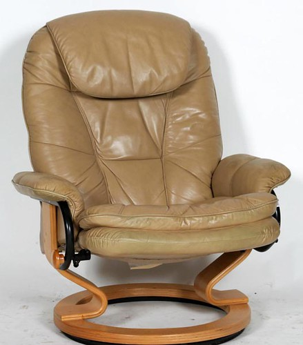 Stressless Style Chair w/ Ottoman ($252.00)