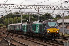 Secret Cats (68005 68019 & 68001) (Steven Atkinson) Tags: 68005 68019 68001 defiant brutus evolution 5c42 sellafield carlisle kingmoor drs direct rail services