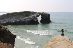 Playa de Aguas Santas (Playa de las Catedrales) (Ruben Juan) Tags: playa beach sea mar canon eos700d canonista paisaje vista panorama view playacatedrales ribadeo lugo galicia espaa spain