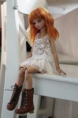 Early Autumn Doll Meet (Muri Muri (Aridea)) Tags: bluefairy blue fairy doll bjd abjd robin ball jointed