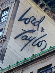 Lord & Taylor, New York, NY (Robby Virus) Tags: newyorkcity nyc newyork city bigapple manhattan lord taylor lordtaylor department store typography script