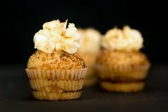 Cinnamon Roll Cupcake... (José Pestana) Tags: bokeh cinnamonrollcupcake comida cupcake dulce dulces fotografía josépestana macro postre sony sonynex sonynex6 sweet