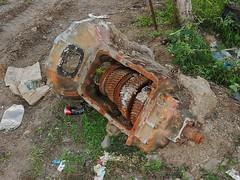 Rusting Gears (mikecogh) Tags: fiji nadi nandi gears motor rusting rubbish junk cogs