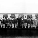 Hópur sundkvenna, 1920-1930