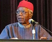 Nigerian novelist Chinua Achebe has written numerous books on the history and culture of this West African state. His books are read throughout the world.
