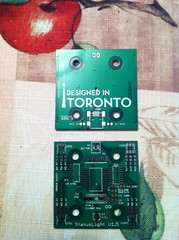 """StatusLight 1.5 PCB • <a style=""""font-size:0.8em;"""" href=""""http://www.flickr.com/photos/61091961@N06/8080116779/"""" target=""""_blank"""">View on Flickr</a>"""