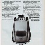 Jaguar E-Type Series 3 V12 advert