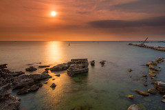 Sunset at Phu Quoc island (XYZVN) Tags: sunset sun rock island long exposure vietnam filter rev phuquoc gnd singhray