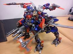 SCI-FI Revoltech Optimus Prime Custom (hof.lin) Tags: transformers scifi revoltech