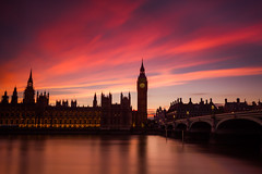 LE of HP (snowyturner) Tags: longexposure pink london westminster thames night river twilight dusk housesofparliament bigben bigstopper