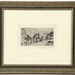 136. Artist Signed Parisian Etching