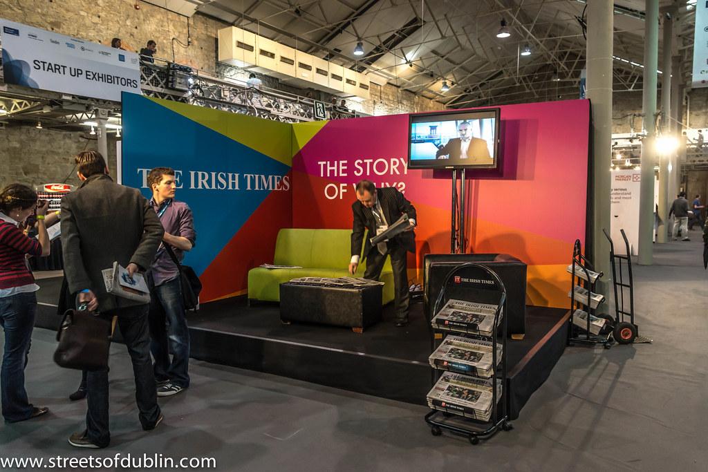 The Irish Times: Web Summit 2012 In Dublin (Ireland)