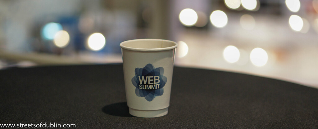 Coffee Supplied By The art Of Coffee: Web Summit 2012 In Dublin (Ireland)