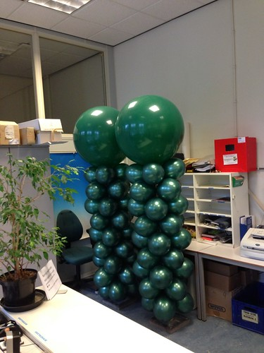 Ballonpilaar Breed Rond TU Delft