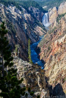Artists Point @The Grand Canyon of the Yellowstone River