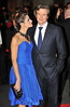 Colin Firth and wife Livia Giuggioli 56th BFI London Film Festival: 'Rolling Stones - Crossfire Hurricanes', gala screening held at the Odeon Leicester Square - Arrivals. London, England