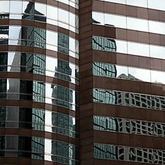 distorsioni metropolitane (* onda *) Tags: lines reflections skyscrapers curves