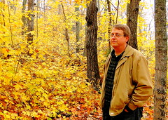 In My Happy Place (Mark Deisinger) Tags: autumn trees red fall leaves minnesota yellow outdoors woods october northshore takenbys obergmountain