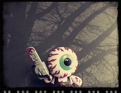 31 Days of Halloween 26 (welovethedark) Tags: halloween kidrobot dunny mishka iphone arttoys iphonecamera iphonecameraapps keepwatcheyeballdunny eyeballdunny