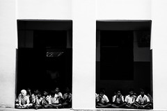 Caught in the darkness... (VinothChandar) Tags: school people india kids canon dark children photography photo child darkness blind photos pics madras picture pic disabled childrens 5d visually chennai convent tamilnadu blindness handicapped impaired littleflower can