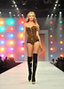 Abbey Clancy Lingerie London held at Old Billingsgate - Catwalk. London