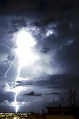 Super Fulmine (D:D:T: ) Tags: light storm night dark thunder notte luce tempesta tuono fulmine fulmini