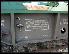 Shmms RENFE (Umbersun) Tags: train wagon tren flat platform cp freight plataforma comboio renfe carga vagão mercancías bobinero mercadorias transfesa shmms bobineiro
