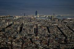 Barcelona (marc pt) Tags: barcelona atardecer spain nikon bcn catalunya nikkor tibidabo 2012 70200mmf28gvrii skylinebcn