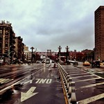 Hurricane Sandy - The Williamsburg Bridge - Lower East Side - New York City